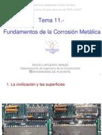 Tema 11.-Fundamentos de Corrosión  2007-2008