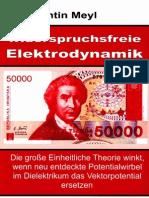 Prof. Konstantin Meyl -- Widerspruchsfreie Elektrodynamik (InhaltsVZ)