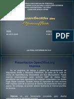 Openoffice. Impress. Pedro Garcia