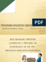 Programa Educatico Individual