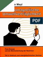 Prof. Konstantin Meyl -- Elektromagnetische Umweltverträglichkeit Teil2 (InhaltsVZ)