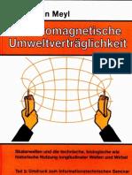 Prof. Konstantin Meyl -- Elektromagnetische Umweltverträglichkeit Teil3 (InhaltsVZ)