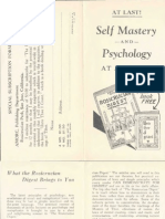 AMORC - At Last Self Mastery and Psychology at a Glance (1942).pdf
