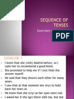 3.-Godina - Sequence of Tenses