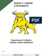 jcsu student athlete handbook