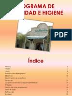 Ejemplo Programa de Seguridad e Higiene