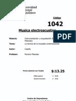 Casella y Mortari - La técnica de la orquesta contemporánea