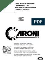 Caroni Mower Spare Parts List
