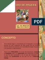 Derecho Individual Del Trabajo-periodo de Prueba.