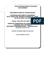 2-DBC TRANSPORTE POR CISTERNAS HIDROCARBUROS LIQUIDOS NAL-INTERNAL-GESTION 2013 (2°)