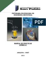 Manual de Quimica I - 2011- II