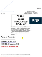 M67 90mm Recoilless Rifle Manual