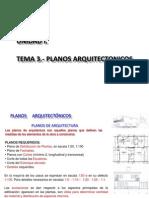 Planos Arquitectonicos (Periodo i)