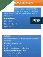 Teorema Del Resto1