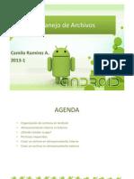 Manejo de Archivos (Libre)