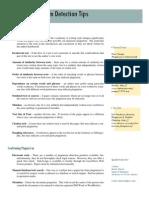 Plagiarism Detection Tips