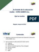 Guia Que Se Evalua Examen Saber 11 Mayo 2012 (1)