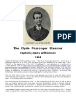 Clyde Passenger Steamer - Capt James Williamson - 1904 - 408-Pages