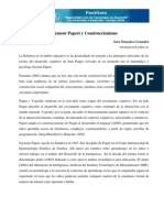 Seymour Papert y Construccionismo