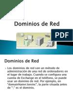 Dominios de red exposiciòn