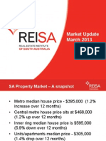 Market Update - April 2013