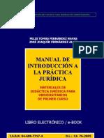 MANUAL DE INTRODUCCION A LA PRACTICA JURIDICA - FELIX FERNÁNDEZ NAVAS