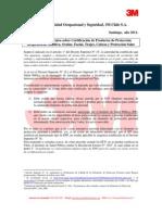 22-CertificaciOn 3m Seguridad Industrial 2011
