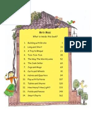NCERT Books Mathematics Class IV | Brick | Track And Field
