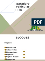 Proyecto Paradero