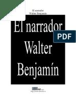 Benjamin Walter - El Narrador