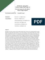 ENGR103 083-03 Proposal