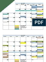 Calendario General Comunitario 2009