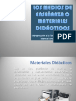 MEDIOS DE ENSEÑANZA O MATERIAL DIDACTICO