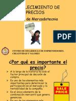 FIJACIÓN DE PRECIO