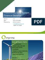 Solar Pv Financial