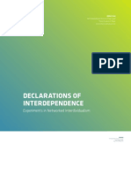 Declarations of Interdependence - Thesis Exhibition Book