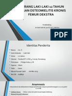 Osteomielitis Kronis Femur
