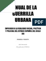 Manual Guerrilla Urbana España Siglo XXI
