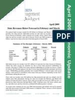 April 2009 Economic Update