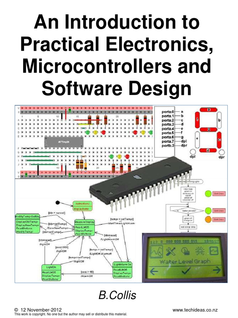An Introduction To Practical Electronics Microcontrollers And Know Read The Diagrams Start Thinking About Building A Circuit Software Designpdf Resistor Power Supply