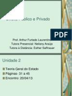 Slides Unid 2 - Direito Publico e Privado