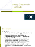 8 Transaccion en Oracle