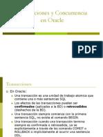 8 Transaccion en Oracle