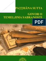 Bodhi Satipatthana Sutta