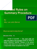 Summary Procedure