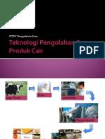 Pertemuan 8 Teknologi Pengolahan Susu Produk Cair