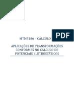 Transformações conformes aplicadas ao cálculo de potenciais eletrostáticos