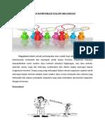 Peran Komunikasi Dalam Organisasi