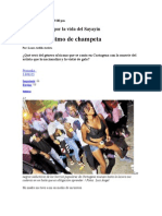 ChampetaMuerte de Sayayin