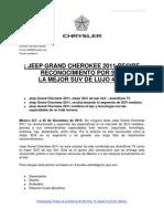 110105_BolPres_La Mejor SUV de Lujo 4x4 Jeep Grand Cherokee 2011